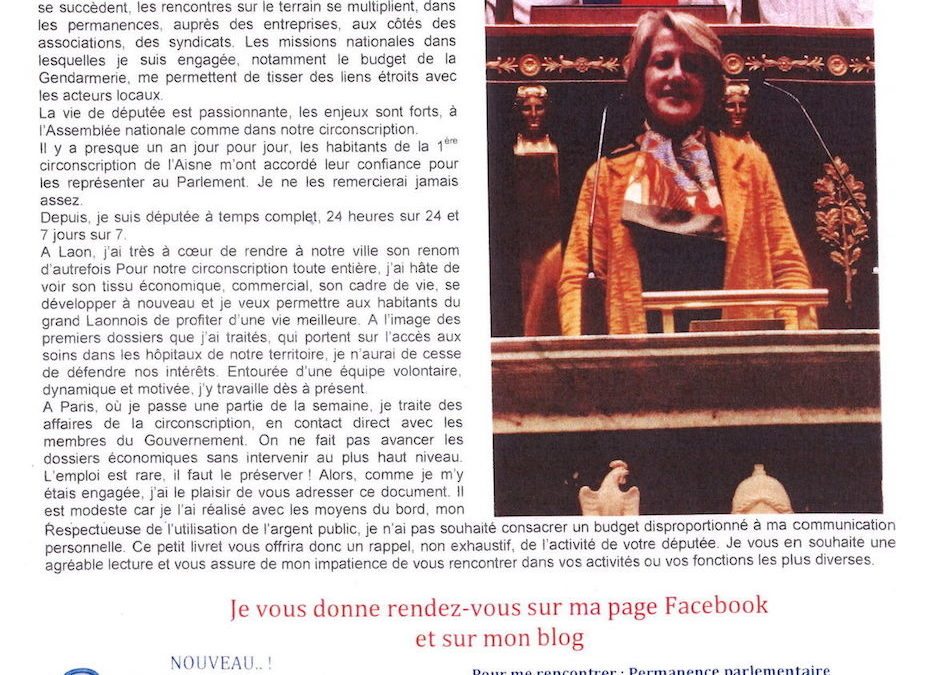 Journal d'Aude Bono-Vandorme n°2