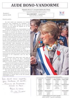 Journal d'Aude Bono-Vandorme N°1